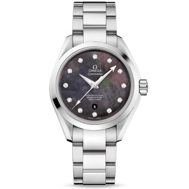 Seamaster Aqua Terra 150M Tahiti Mother of Pearl Dial Watch
