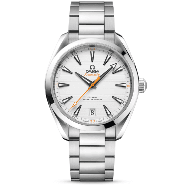 Seamaster Aqua Terra 41mm Silver Dial Men's Automatic Bracelet Watch