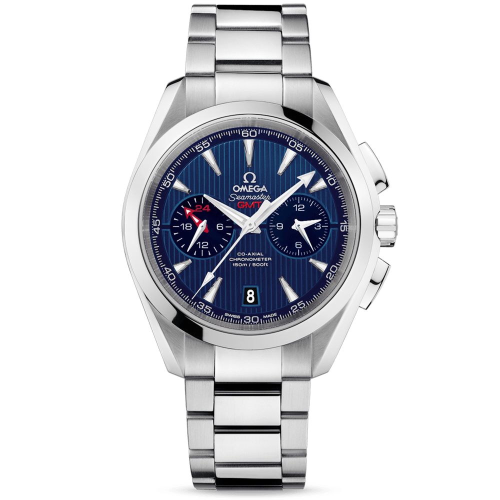 Omega Seamaster Aqua Terra GMT Watch 231.10.43.52.03.001