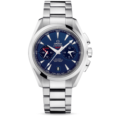 Seamaster Aqua Terra GMT 150M Chronograph Men's Bracelet Watch