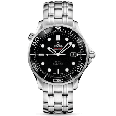 Seamaster Diver 300M Black Ceramic Bezel Bracelet Watch