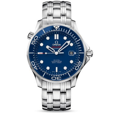 Seamaster Diver 300M Blue Ceramic Bezel Bracelet Watch