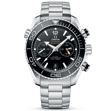 Seamaster Planet Ocean 600m Black Dial & Bezel Bracelet Watch