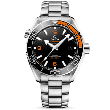 Seamaster Planet Ocean 600m Black/Orange Dial Automatic Watch