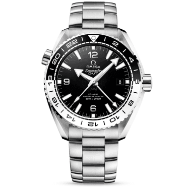 Seamaster Planet Ocean 600m Black/White Bezel Men's GMT Watch