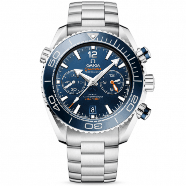 Seamaster Planet Ocean 600m Blue Dial & Bezel Bracelet Watch
