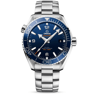 Seamaster Planet Ocean 600m Blue Dial & Bezel Men's Watch