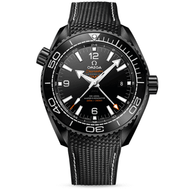 Seamaster Planet Ocean Deep Black 45.5mm Ceramic & Rubber Strap Watch