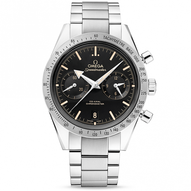Omega Speedmaster '57 Black/Tan Dial Automatic Chronograph Watch