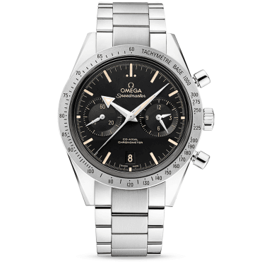 Speedmaster '57 Black/Tan Dial Automatic Chronograph Watch