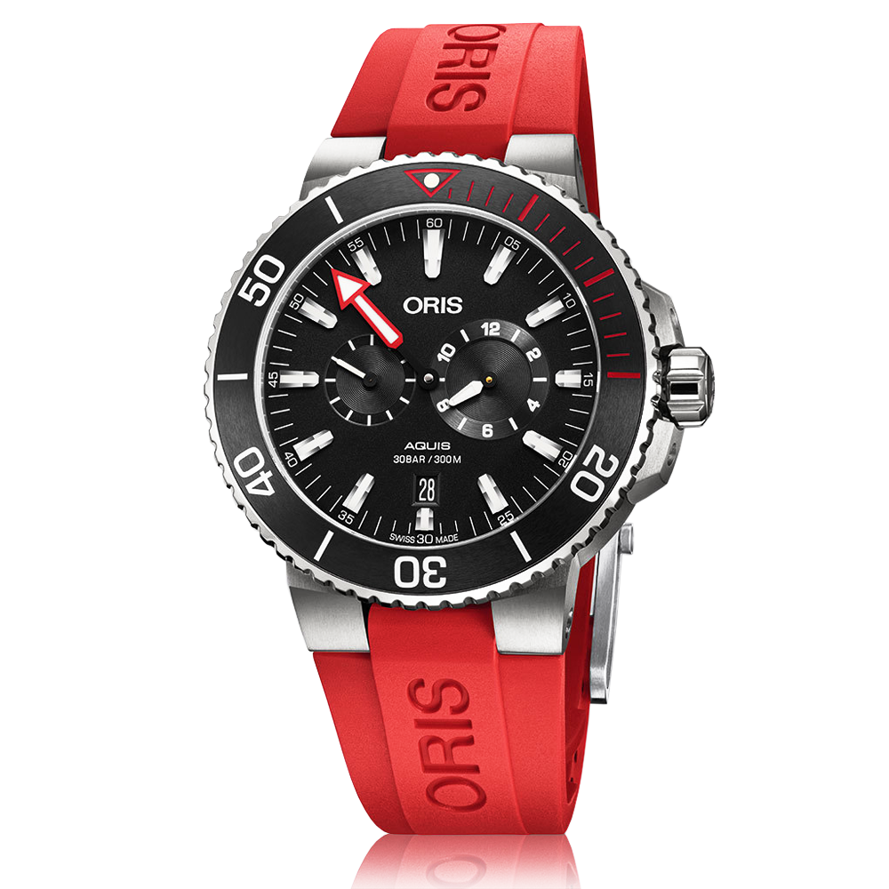 date second watches p aquis mens small oris watch