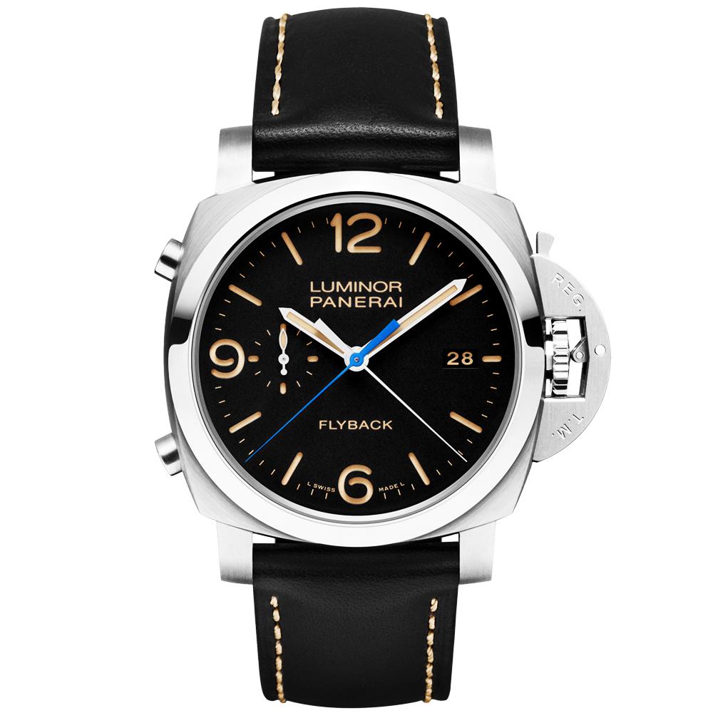 170ba4965e8a Officine Panerai Luminor 1950 3 Days Chrono Flyback Automatic Watch