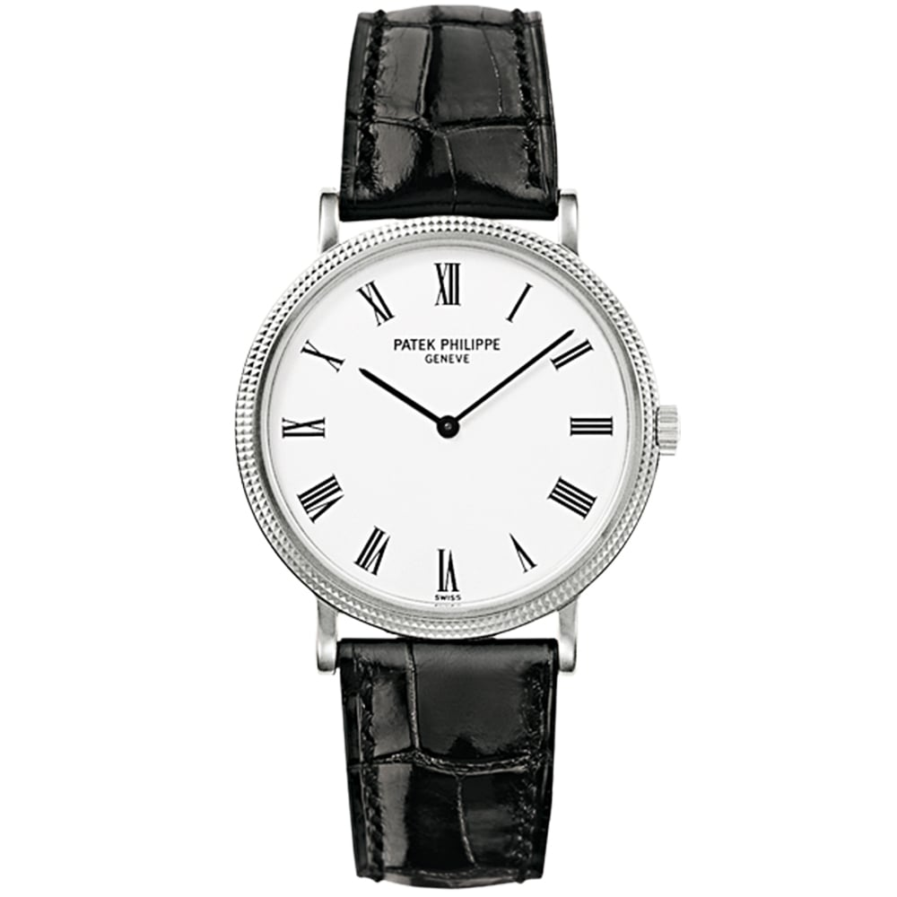 automatic watches for ladies and men from berry s jewellers calatrava 18ct white gold automatic men s strap watch
