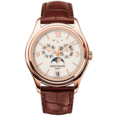 Complications 18ct Rose Gold 39mm Cream Dial Annual Calendar Men's Strap Watch