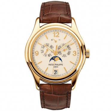 Complications 18ct Yellow Gold 39mm Cream Dial Annual Calendar Men's Strap Watch