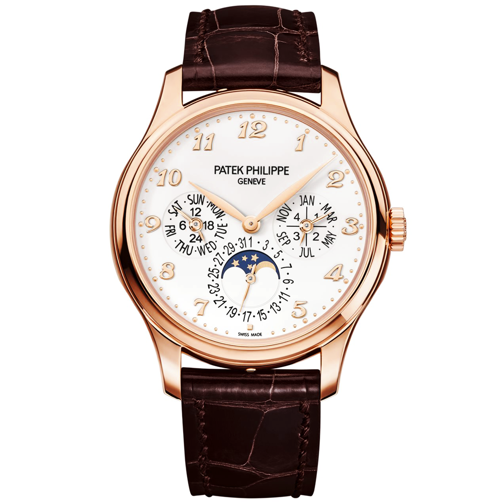 Patek philippe perpetual calendar watch 5327r 001 at berry 39 s jewellers for Patek phillipe watch