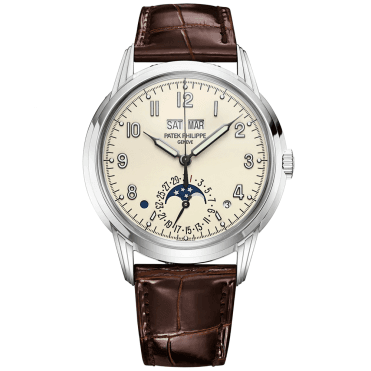 Grand Complications 40mm Cream Dial Men's Perpetual Calendar Watch