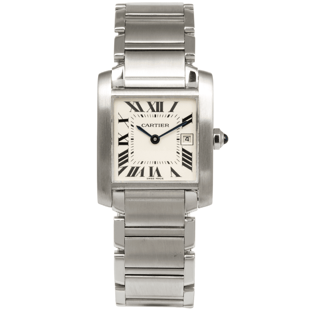 Cartier tank francaise and celebrity