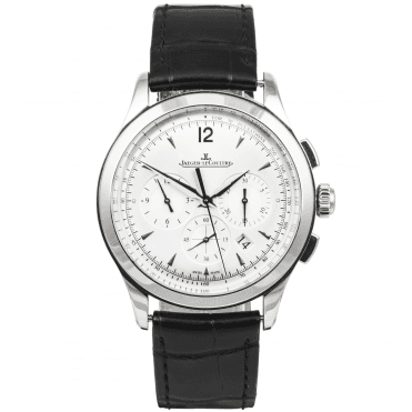 Jaeger LeCoultre Master Chronograph Men's Strap Watch