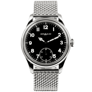 Montblanc 1858 Automatic Black Dial Bracelet Watch