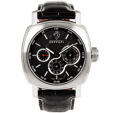 Officine Panerai Ferrari 45mm Black Dial Automatic Perpetual Calendar Watch