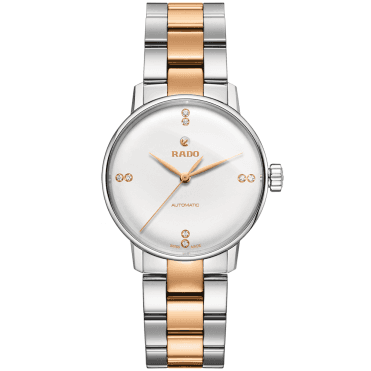 Coupole Classic 32mm Two-Tone Ladies Diamond Set Watch