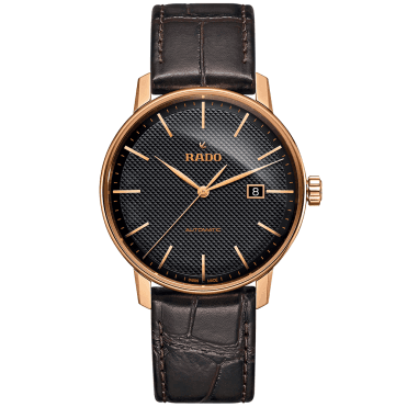Coupole Classic 41mm Rose Gold PVD & Black Dial Watch