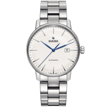 Coupole Classic 41mm White Dial Bracelet Watch