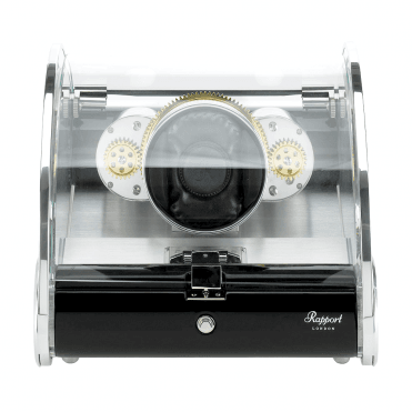 Optima Time Arc Glass Cover Single Watch Winder
