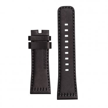 M1/01 Black Calf Leather Watch Strap