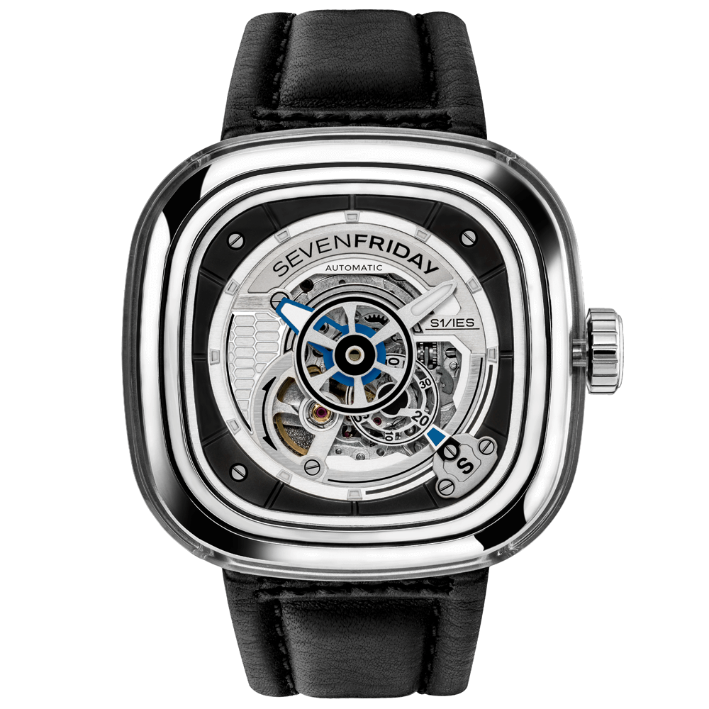 Sevenfriday s series s1 01 steel recycled nylon men 39 s watch for Sevenfriday watches
