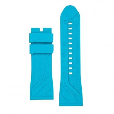 Silicone Turquoise Watch Strap