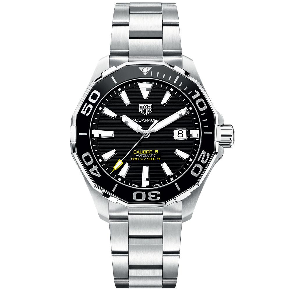 3e5bd6b7787 TAG Heuer TAG Heuer Aquaracer 300m Black Dial & Ceramic Bezel Automatic  Watch