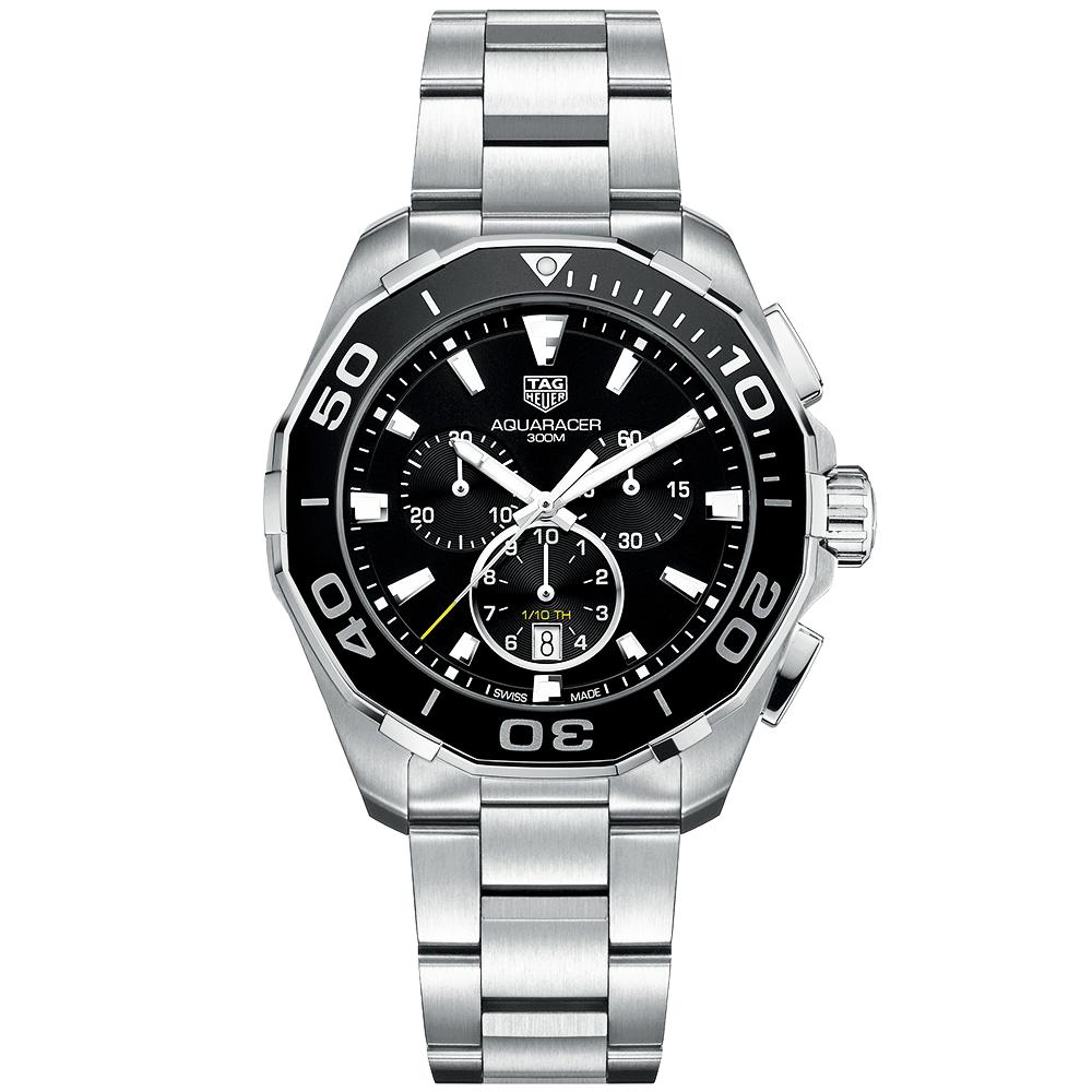 a08cad441fc TAG Heuer TAG Heuer Aquaracer 43mm Black Dial Quartz Chronograph Watch