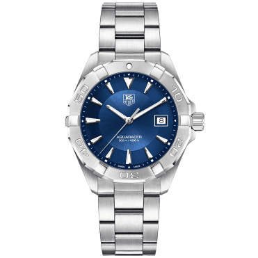 Aquaracer 300m Blue Dial Men's Bracelet Watch