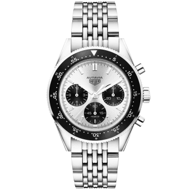 Autavia 42mm Jack Heuer Limited Edition Automatic Chronograph Watch