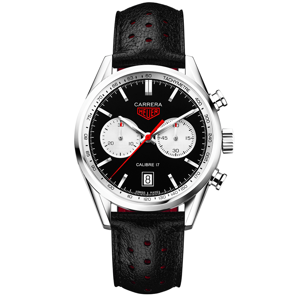 watches carrera carerra heuer tag automatic luxury p watch mens black