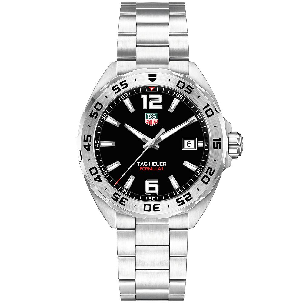 b90d1a8de0e TAG Heuer Formula 1 41mm Black Dial Men s Bracelet Watch