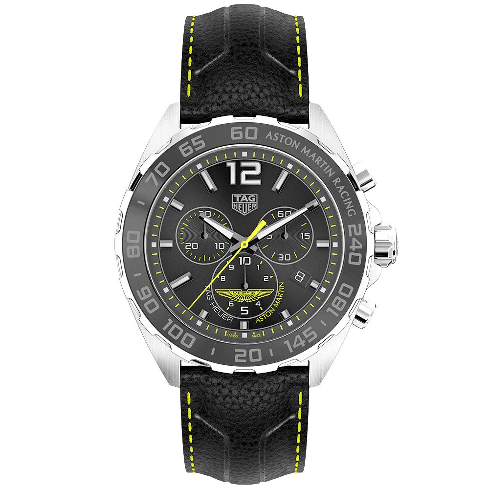 7d53e72a512 Formula 1 43mm Aston Martin Racing Special Edition Chronograph Watch