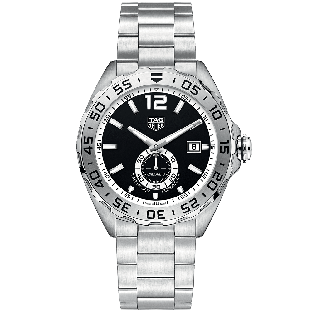 TAG Heuer Formula 1 43mm Black/White Dial Men's Automatic ...