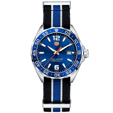 Formula 1 43mm Blue Dial & NATO Strap Men's Watch