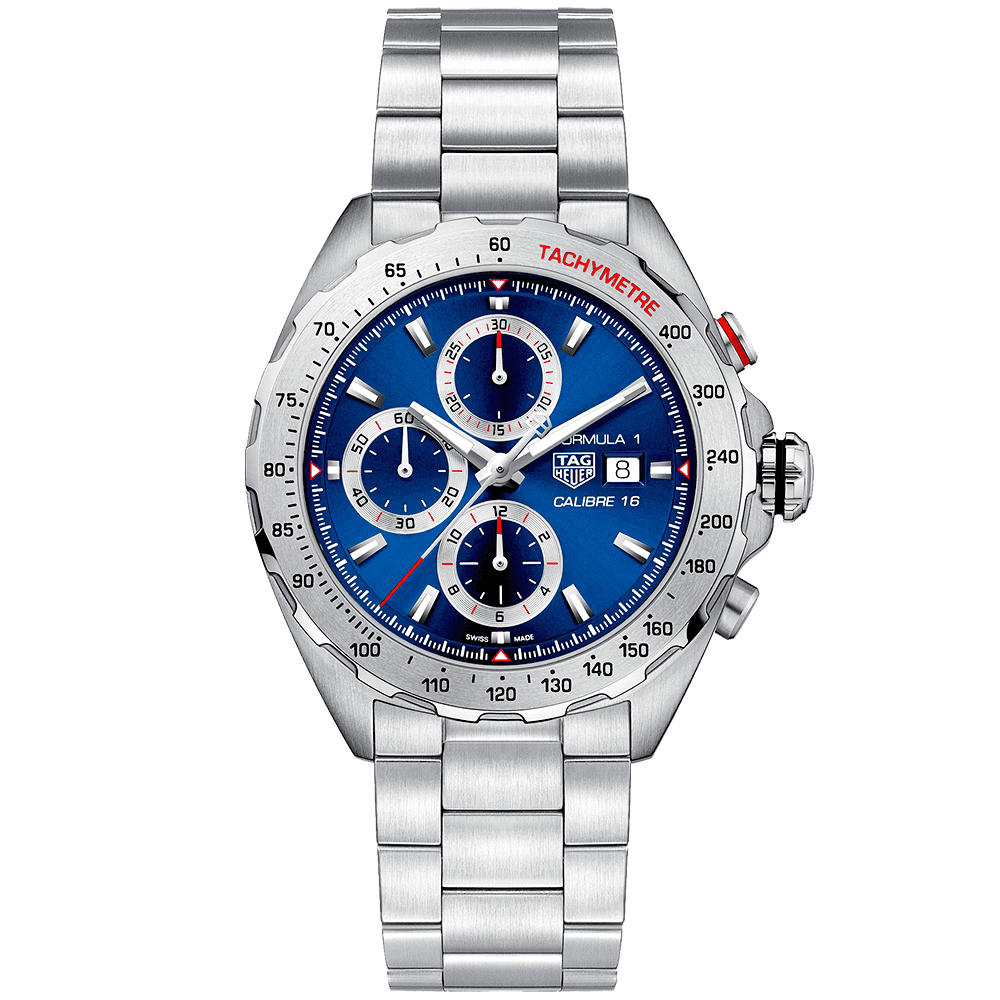 90aaed3cd Tap image to zoom. Formula 1 Calibre 16 Blue Dial Men's Chronograph  Bracelet Watch