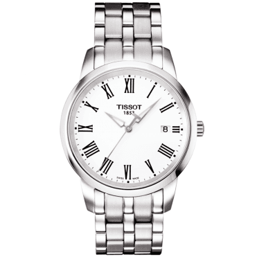 Dream 38mm Stainless Steel & White Roman Dial Watch