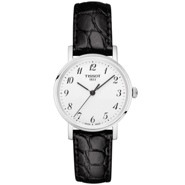 Everytime 30mm Arabic Dial Ladies Leather Strap Watch