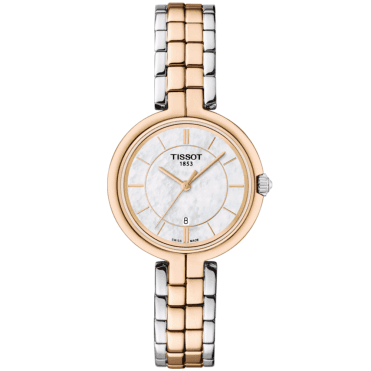Flamingo 26mm Two-Tone Steel & Rose Gold PVD Bracelet Watch