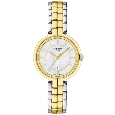 Flamingo 26mm Two-Tone Steel & Yellow Gold PVD Bracelet Watch