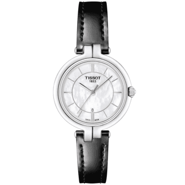 Flamingo 26mm White Mother of Pearl Dial Ladies Strap Watch
