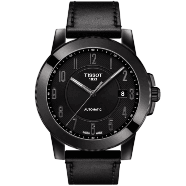 Gentleman Swissmatic 44mm All Black PVD Men's Automatic Watch