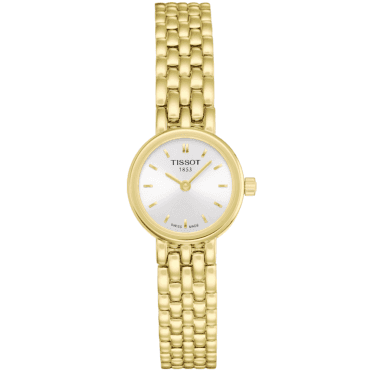 Lovely Yellow Gold PVD Quartz Ladies Bracelet Watch