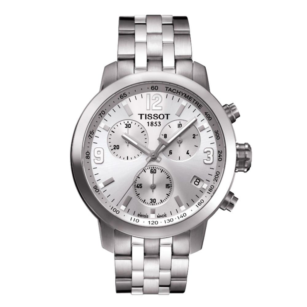 prc200 stainless steel bracelet silver dial men s watch tissot prc200 stainless steel bracelet silver dial men s watch